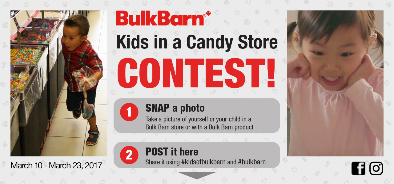 Kid in a Candy Store Photo Contest