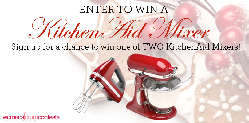 Holiday KitchenAid Mixer Sweepstakes