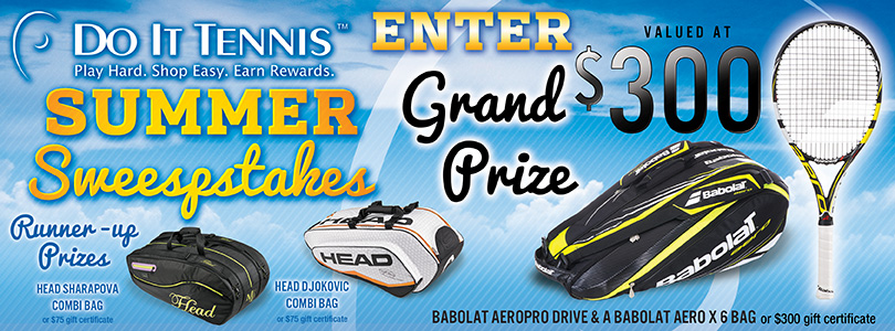 Do It Tennis Summer Sweepstakes