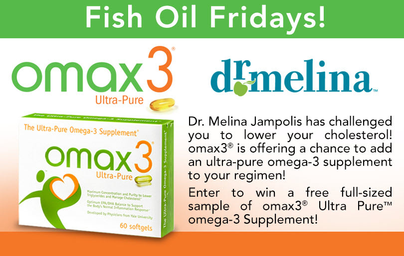 "omax3® Ultra-Pure™ ""Fish Oil Fridays"" Giveaway"