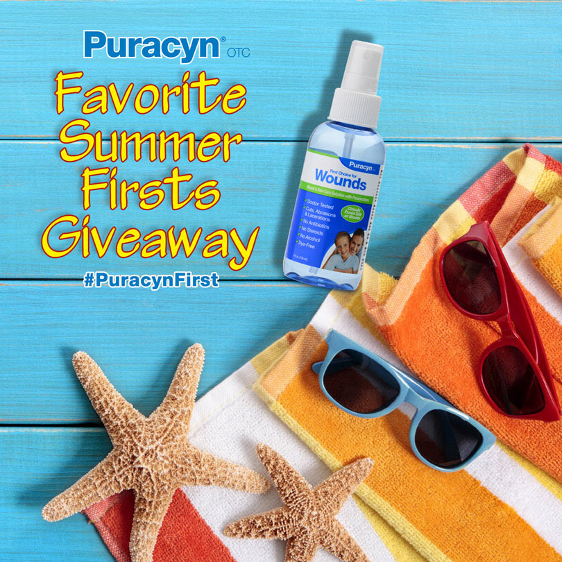 Puracyn® Favorite Summer Firsts Giveaway