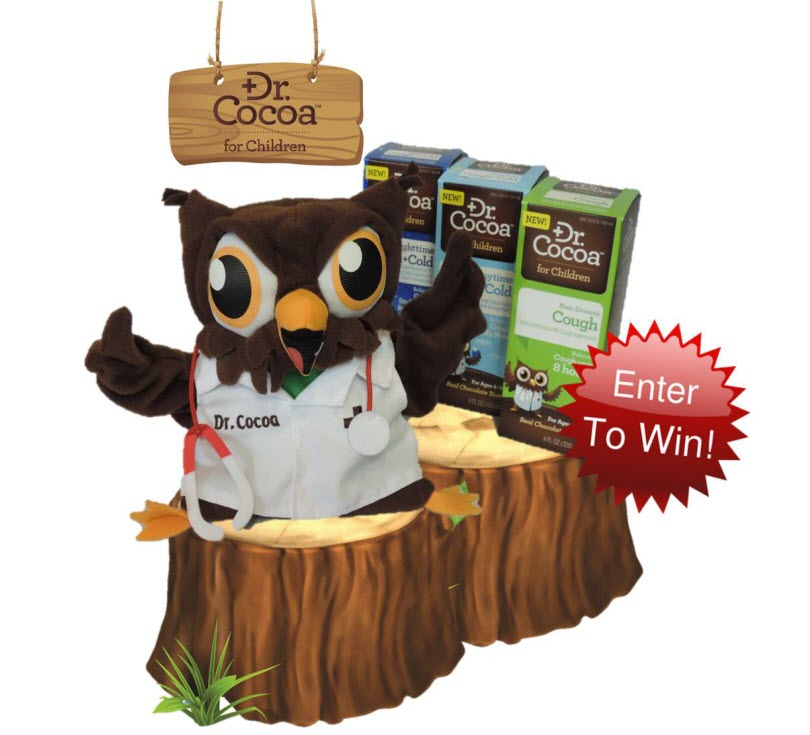 """Dr. Cocoa™ We're """"Owl"""" Smiles for Relief Giveaway"""