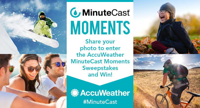 MinuteCast Moments Sweepstakes
