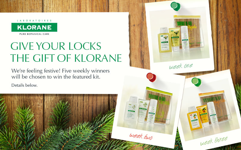 Give your locks the gift of Klorane