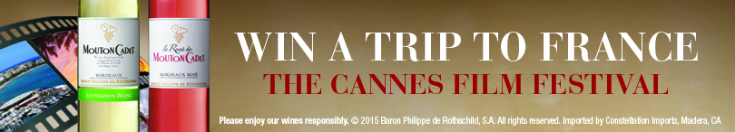 Mouton Cadet Cannes Film Festival Sweepstakes!