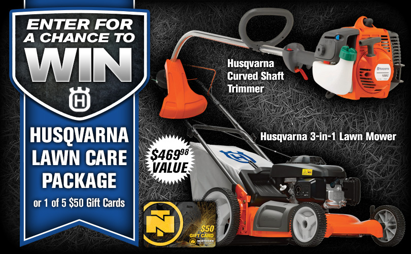Husqvarna Lawn Care Package Sweepstakes