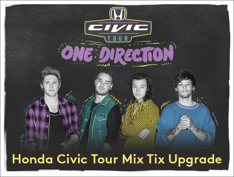 One direction honda civic tour presents on the road 2016 car release