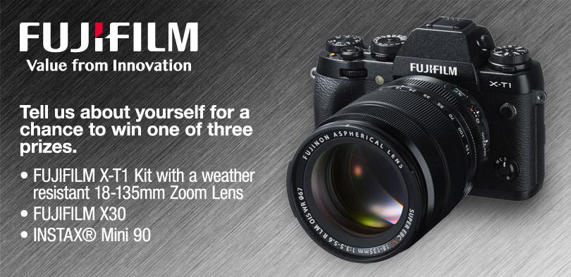 Fujifilm Photo Festival Sweepstakes
