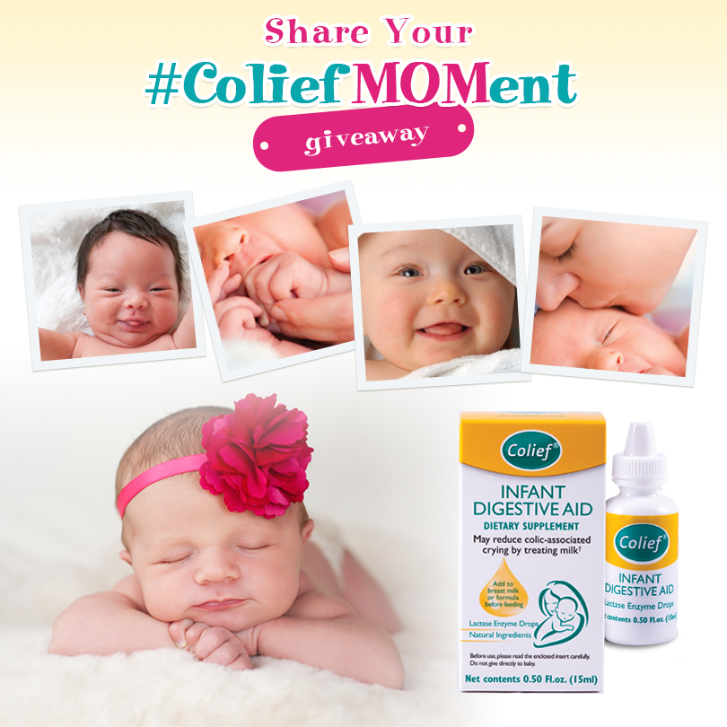 Share Your #ColiefMOMent Giveaway