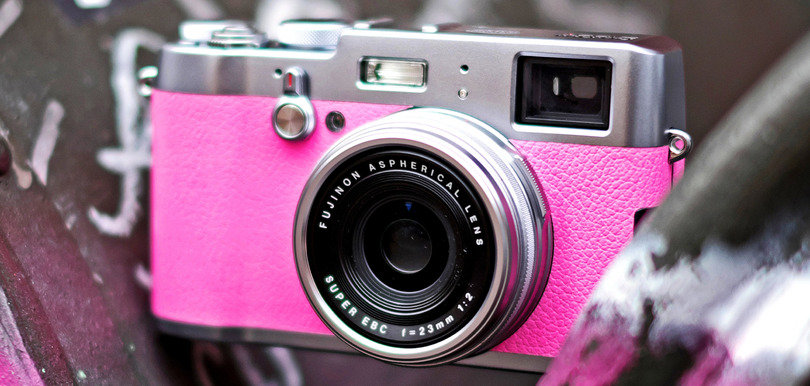 Fujifilm Valentine's Day Pink X100T Sweepstakes