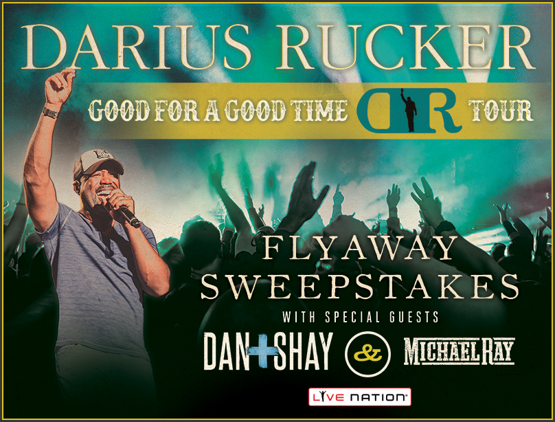 Darius Rucker Live Nation Flyaway Sweepstakes