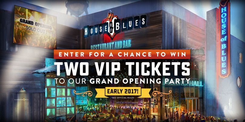 HOB Anaheim Grand Opening Party VIP Ticket Giveaway