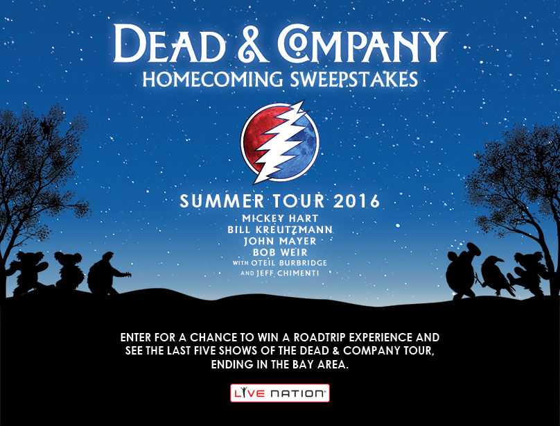 Dead & Company Homecoming Sweepstakes
