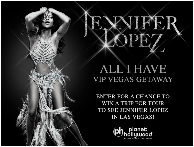 Jennifer Lopez 'All I Have' VIP Vegas Getaway