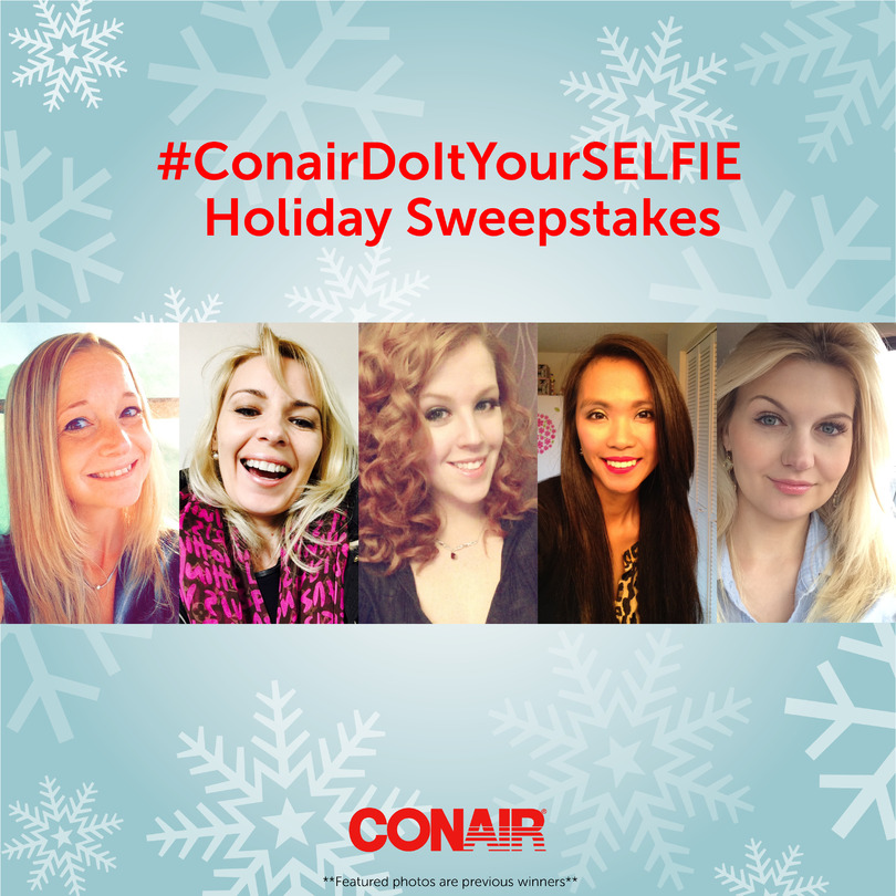 #ConairDoItYourSELFIE Holiday Sweepstakes