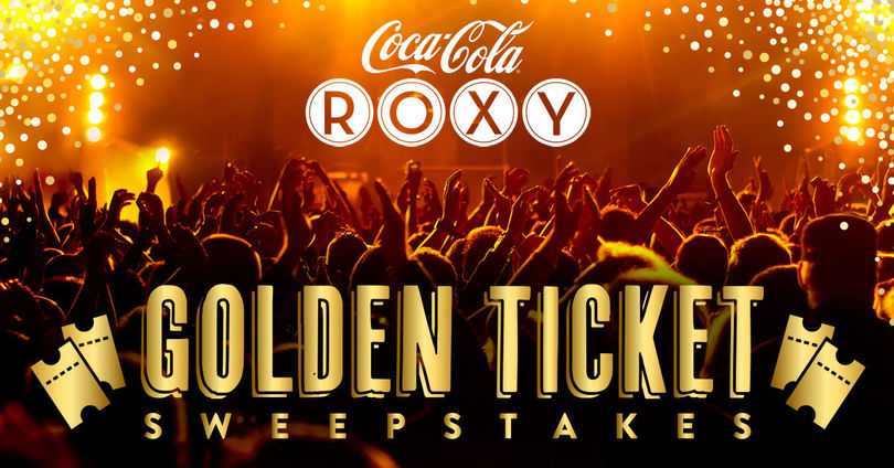 The Coca-Cola Roxy Golden Ticket Giveaway