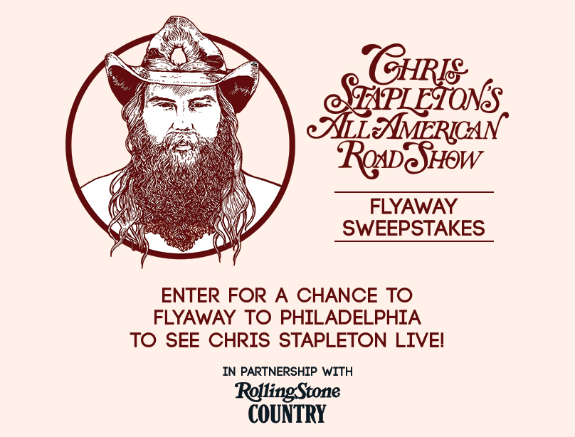 Chris Stapleton's All American Road Show Flyaway Sweepstakes