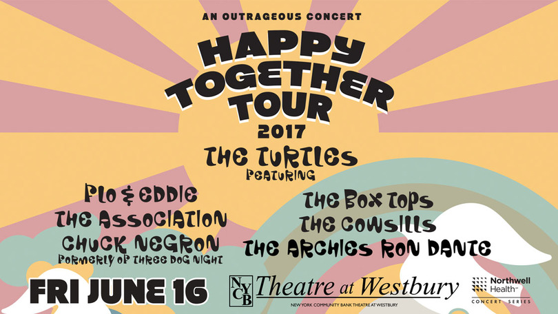 Happy Together Tour at NYCB Theatre at Westbury | Ticket