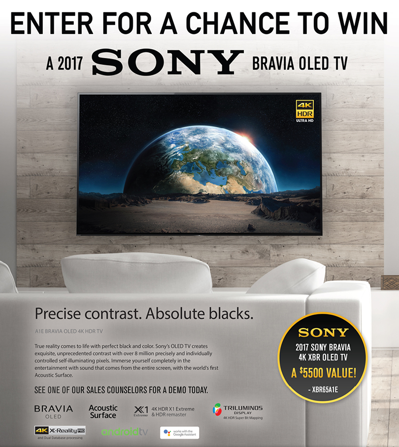 P C  Richard & Son Sony OLED TV Sweepstakes