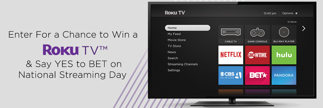 BET Roku TV Sweepstakes | Lifestyle | BET
