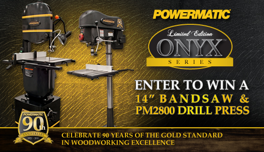 Powermatic Onyx Limited Edition Giveaway
