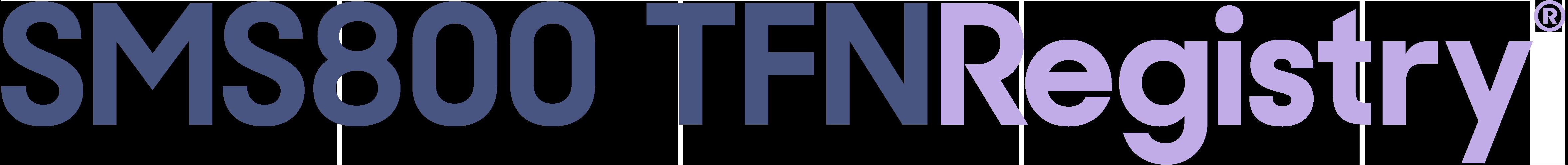 SMS/800 TFN Registry