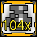 104 x Potion of Def