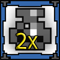 2 x Potion of Def