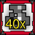 40 x Potion of Def