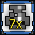 7 x Potion of Def