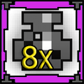 8 x Potion of Def