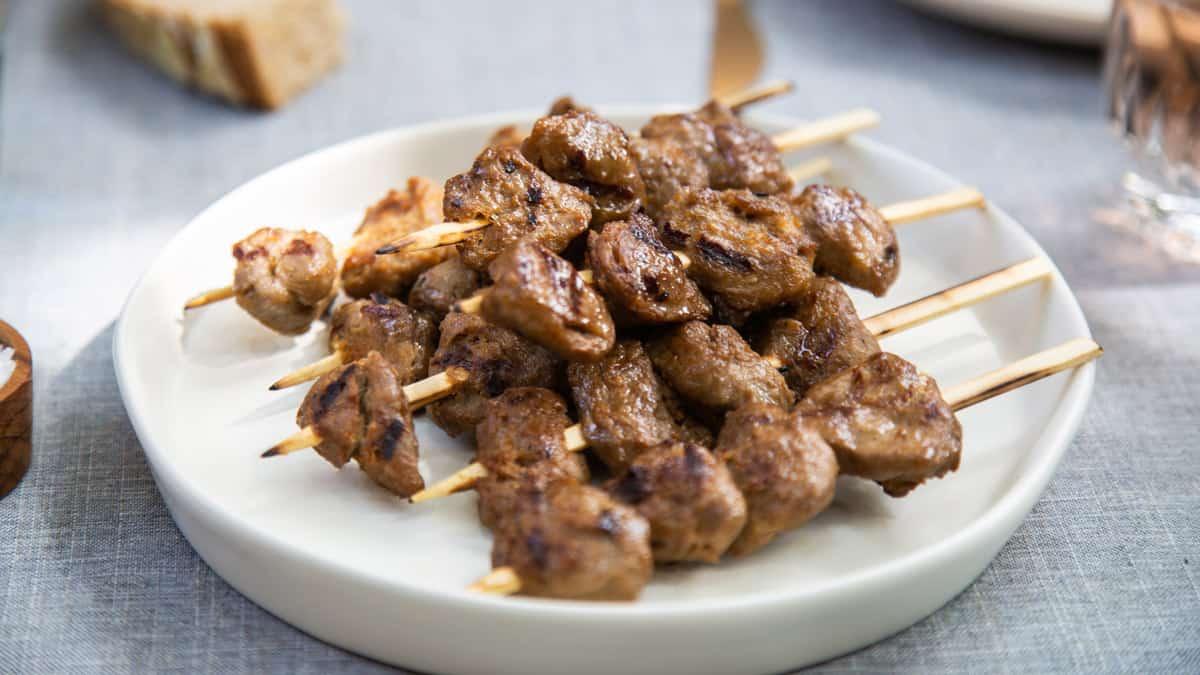 """Prato com o produto """"Duck"""" , da Memphis Meats, produtora de carne cultivada em laboratório / Foto: Memphis Meats (divulgação)"""