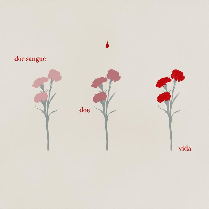 Campanha Yam de doação de sangue: Doe Sangue, doe vida.