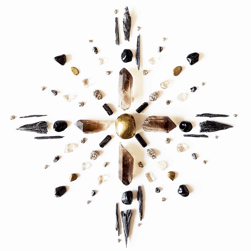 Grade de cristal e foto: Bianca Amadeu