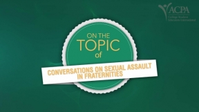 Conversations on Sexual Assault in Fraternities