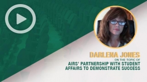 Darlena Jones on the Topic of Airs' Partnership with Student Affairs to Demonstrate Success