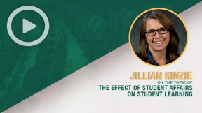 Jillian Kinzie on the Effect of Student Affairs on Student Learning