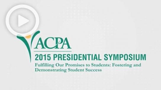 The 2015 ACPA Presidential Symposium - Full Live Stream Event