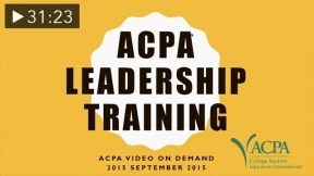 ACPA Video On Demand