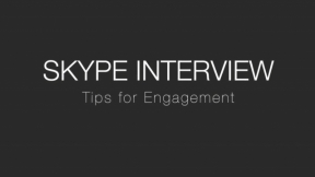 SKYPE INTERVIEW:  Tips for Engagement with, Dr. Leila Moore