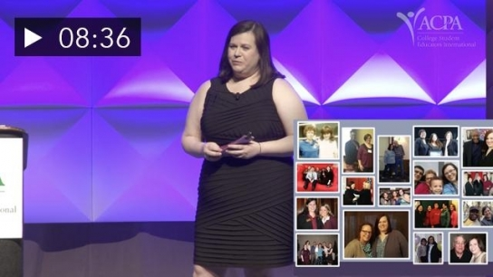 ACPA Powered by Pecha Kucha: Kimberly Rhyan - Never Never Give Up: The Resiliency of Former Foster Youth