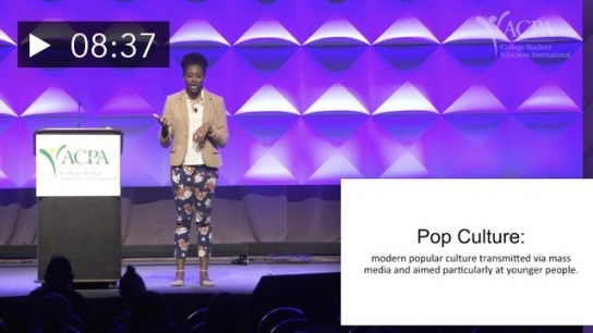 ACPA Powered by Pecha Kucha: Keilah Johnson - Clapbacks, Formation, & Kylie Jenner: Pop Culture As Social Justice Education