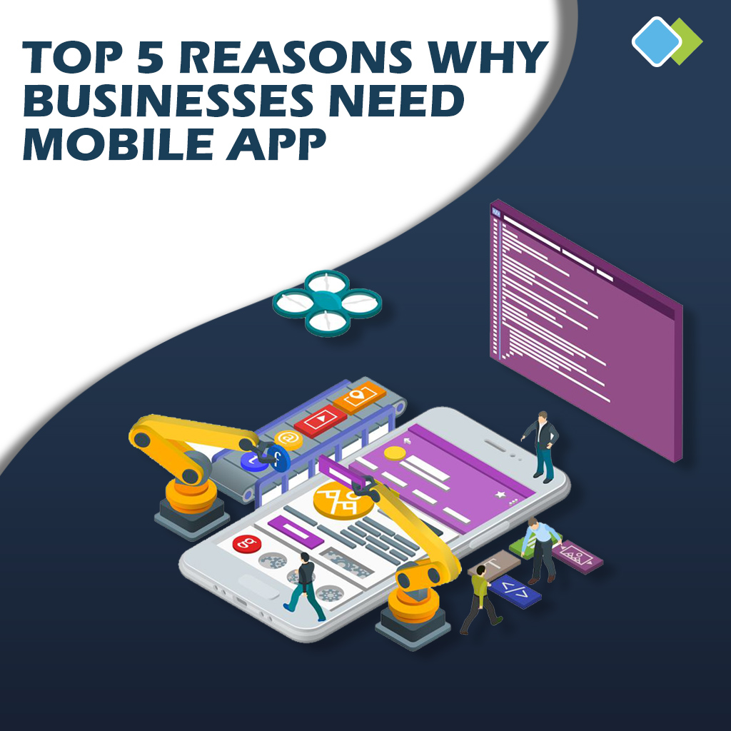 Top 5 Reasons Why Businesses Need Mobile App (Posts by Dipen Patel)