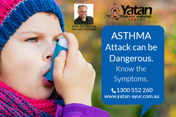 sudden asthma attack what to do