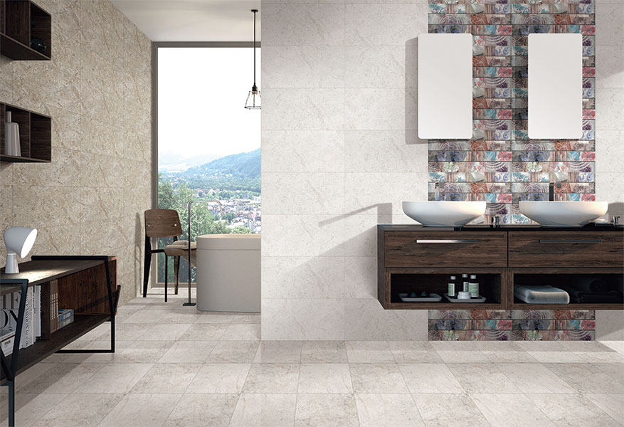 Put an elegant touch in your bathroom with Bathroom Tiles ...