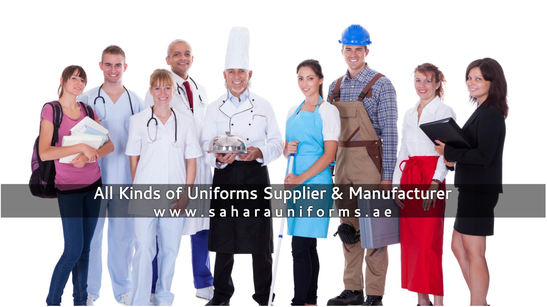 Corporate and hotel uniforms suppliers in Dubai -Sahara ...