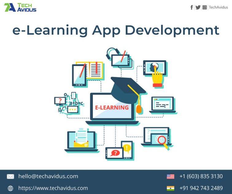 e-Learning App Development (Posts by TechAvidus)