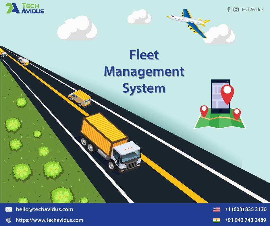 Fleet Management Software Development Company (Posts by TechAvidus)