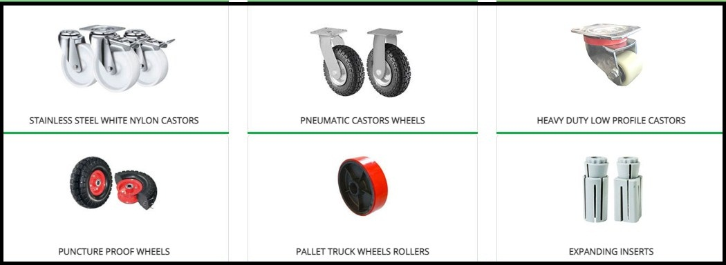 How to buy castor wheels depending on the type of surface? (Posts by equip2go19)