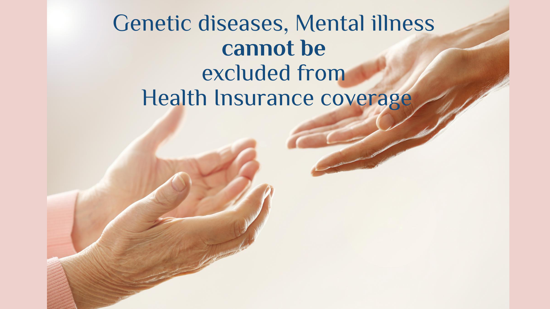 Genetic diseases mental illness cannot be excluded from ...